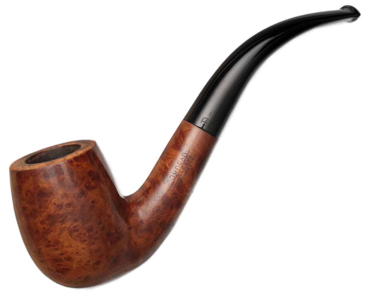 English Estate Duncan Sleeve Smooth Bent Billiard (Patent) (45)