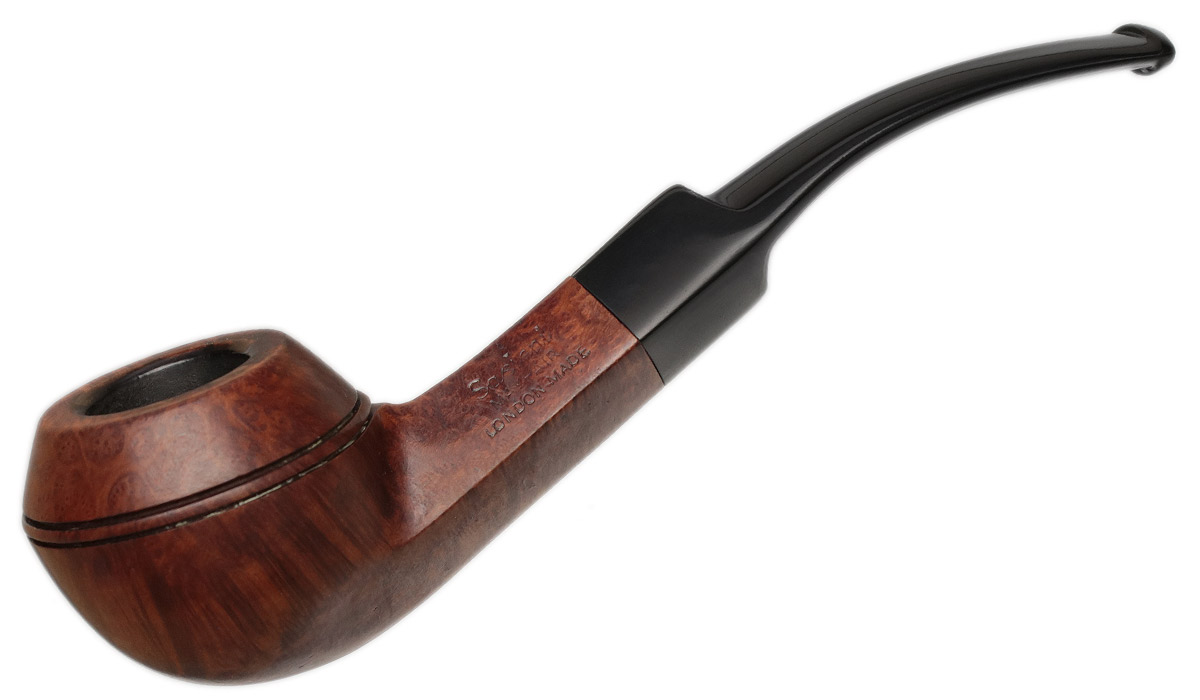 English Estate Sasieni Mayfair Bent Bulldog (97S) (1946–1979)