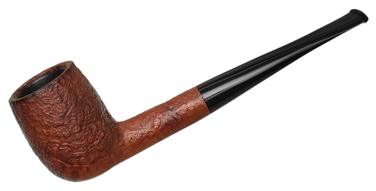 English Estate Barling Sandblasted Billiard (T.V.F.) (ExEL) (5105) (Post Transition)