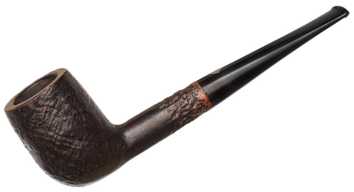 English Estate BBB Thorneycroft Sandblasted Billiard (606)