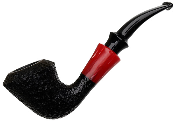Butz-Choquin Strawberry Rusticated Bent Dublin (3) (9mm) (Unsmoked)