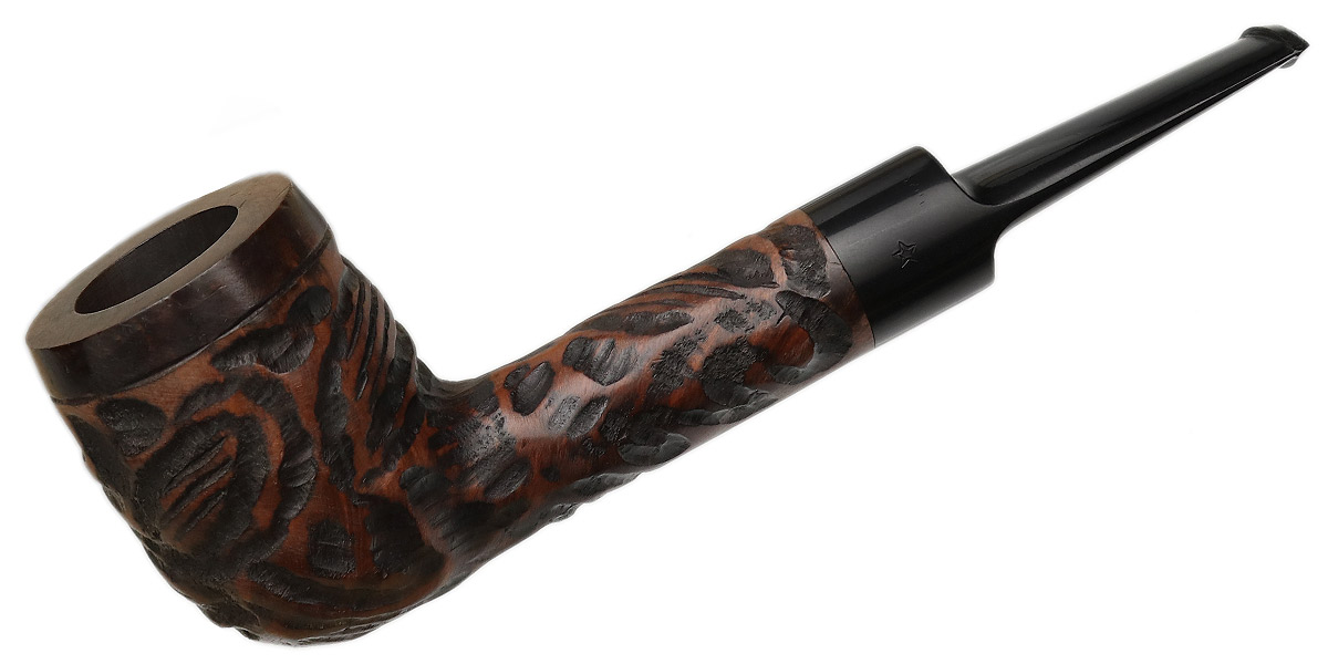 French Estate Lacroix Rusticated Billiard (*) (988S) (Unsmoked)