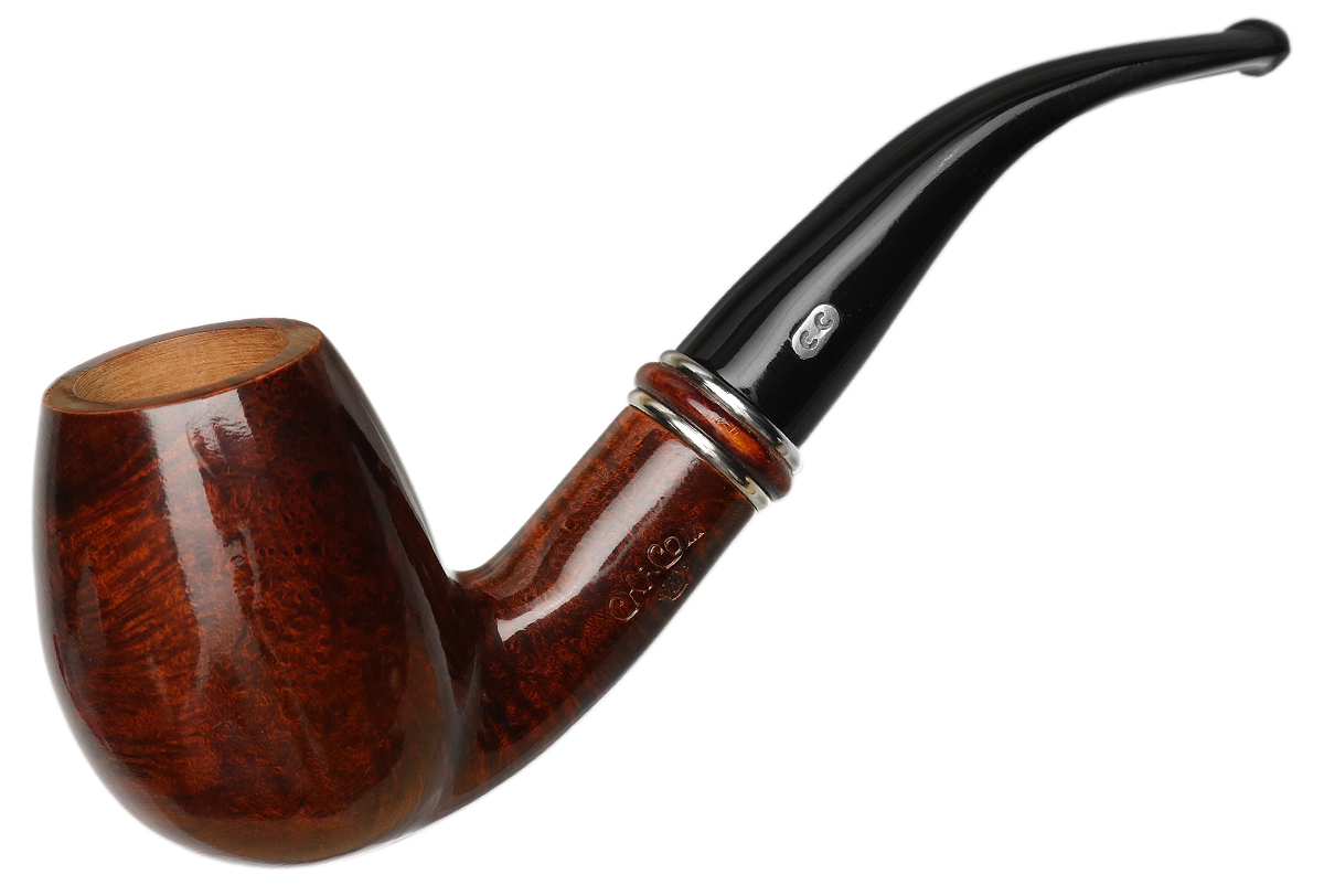 French Estate Chacom 185 ans Smooth Bent Billiard (19) (Unsmoked)