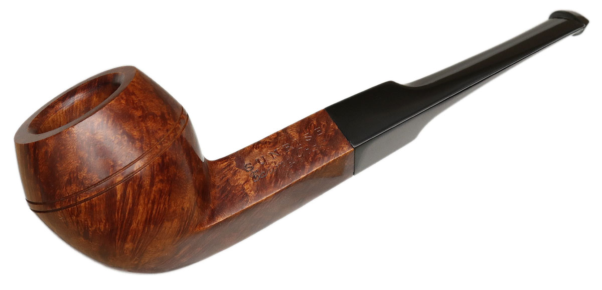 French Estate Sunrise Tawny Grain Smooth Bulldog (Vintage Briar) (5) (Unsmoked)