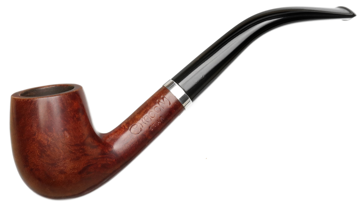 French Estate Chacom Star Smooth Bent Billiard