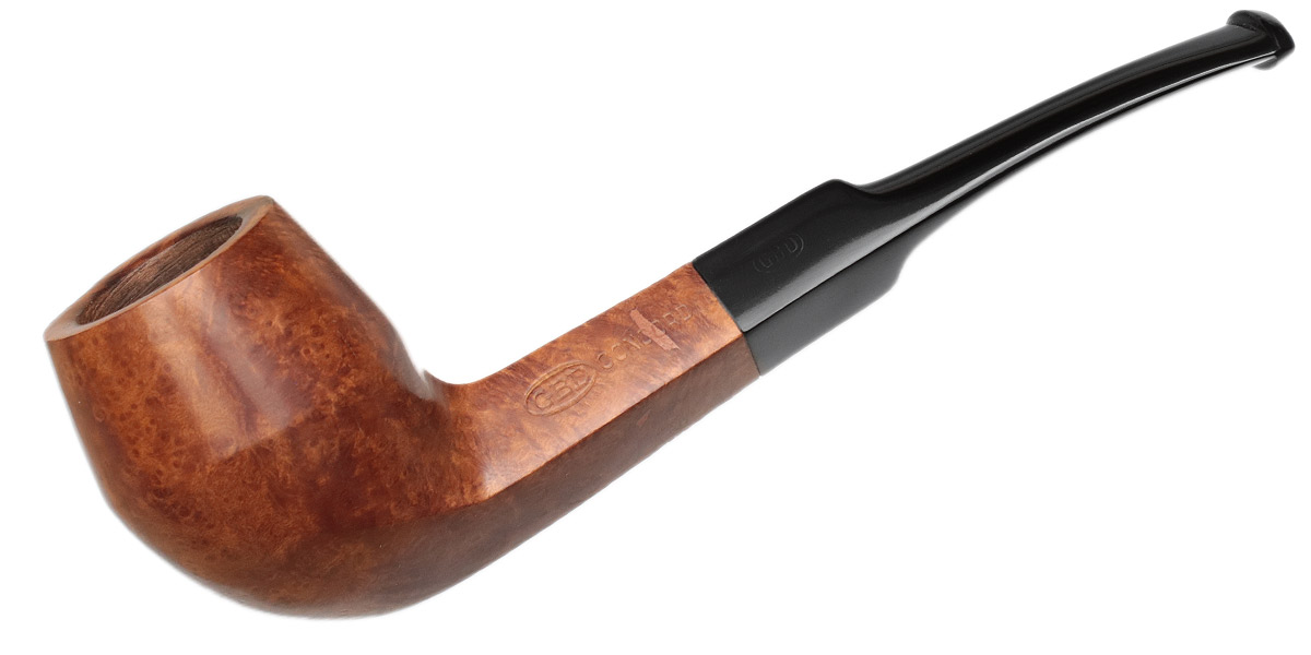 French Estate GBD Concord Smooth Bent Bulldog (1734) (post-1980) (Replacement Tenon)