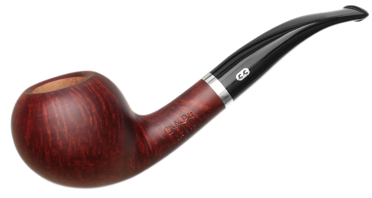 French Estate Chacom Smooth Bent Apple (XVIII) (9mm) (Unsmoked)