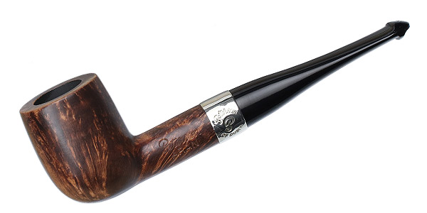 Irish Estate Peterson Aran Nickel Mounted (6) (P-Lip) (Unsmoked)