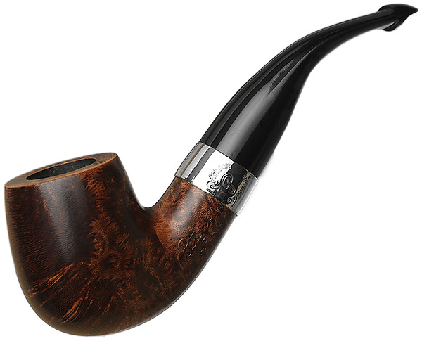 Irish Estate Peterson Aran Nickel Mounted (XL90) (P-Lip) (Unsmoked)