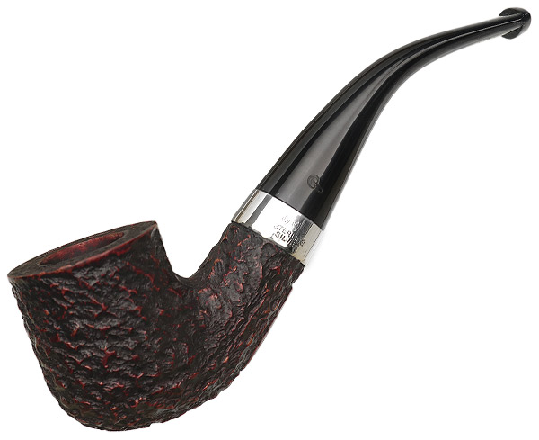 Irish Estate Peterson Donegal Rocky with Silver (01) (Fishtail)