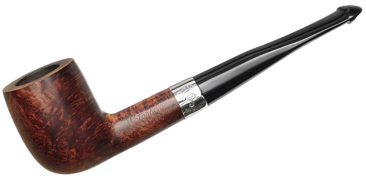Irish Estate Peterson Aran Nickel Mounted (15) (P-Lip)