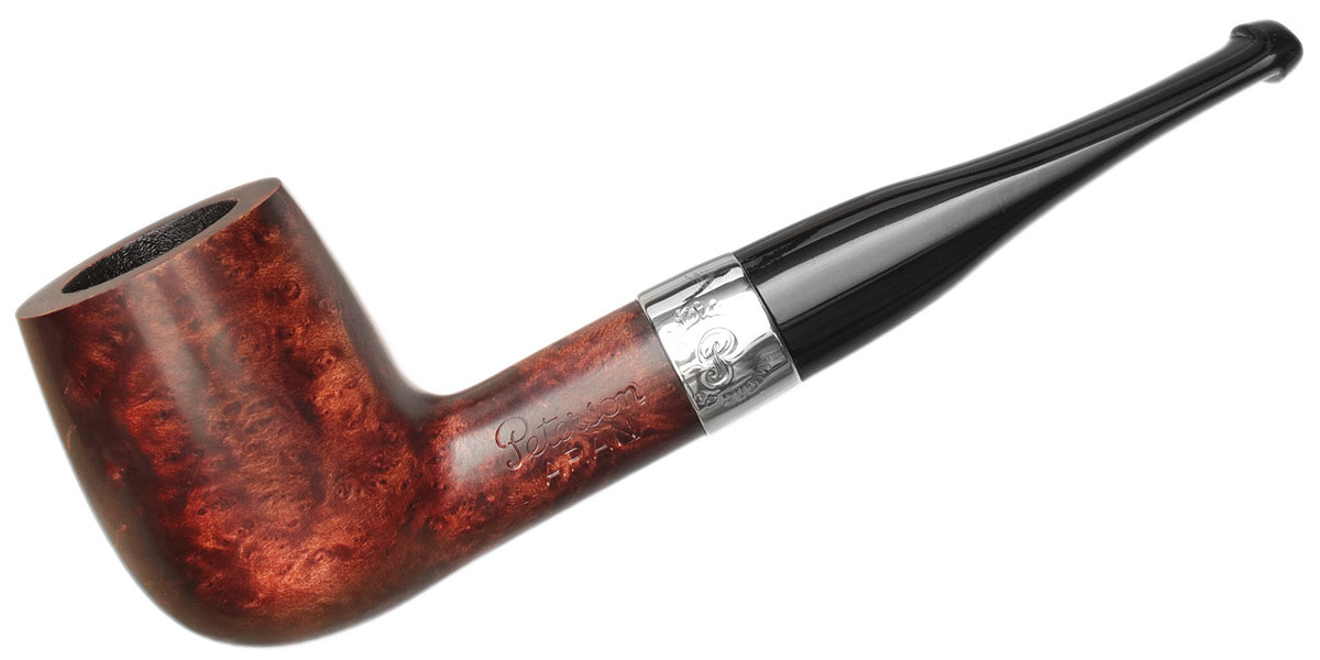 Irish Estate Peterson Aran Smooth Nickel Mounted (X105) (Fishtail) (Unsmoked)