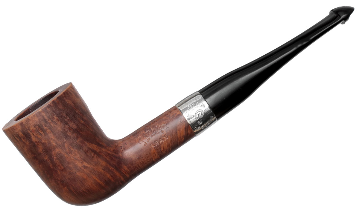 Irish Estate Peterson Aran Smooth Nickel Mounted (120) (P-Lip) (Unsmoked)