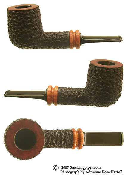 Manuel Shaabi Rusticated Billiard with Kingwood Ferrule (9mm)