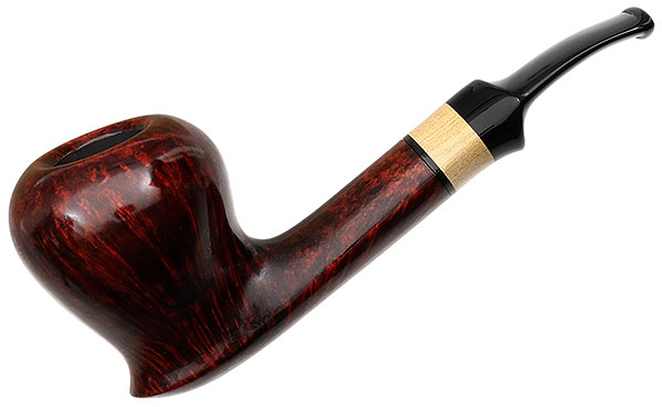 German Estate Design Berlin Pipe of the Year 2013 Smooth (117) (9mm) (Twin Bore) (Unsmoked)