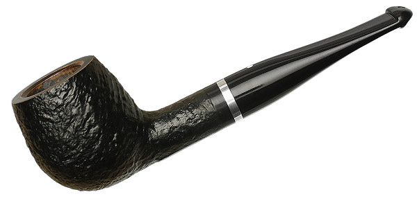 Vauen Royal Sandblasted Apple with Silver (566) (9mm)