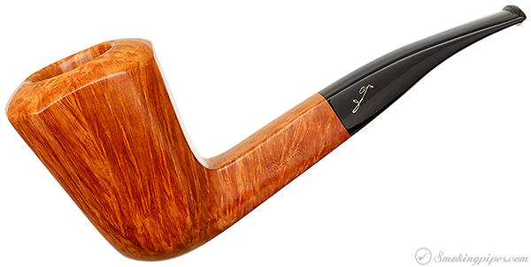 Italian Estate Savinelli Autograph Smooth Paneled Bent Dublin (6) (6mm) (Unsmoked)