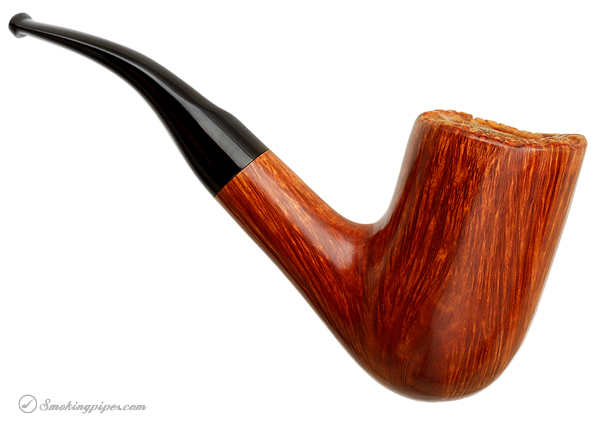 Italian Estate Savinelli Autograph Smooth Freehand Bent Billiard (8) (6mm)