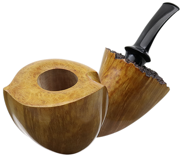 Italian Estate Gabriele Smooth Bent Dublin (Whale) (Unsmoked)