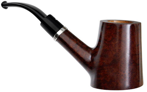 Italian Estate Caminetto Smooth Cherrywood with Silver (03.L.33) (AR) (Unsmoked)