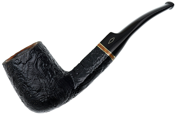 Brebbia Sabbiata Bent Billiard (8311) (9mm) (Unsmoked)