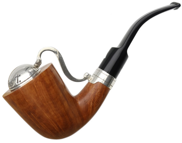 Italian Estate Alberto Bonfiglioli Collectors Edition Smooth Bent Dublin with Silver Windcap (2005) (Unsmoked)