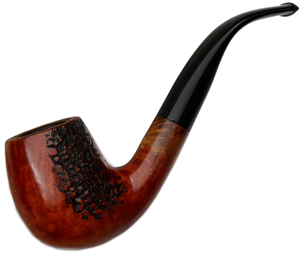 Aldo Velani Serento Partially Rusticated Bent Billiard (Replacement Stem)