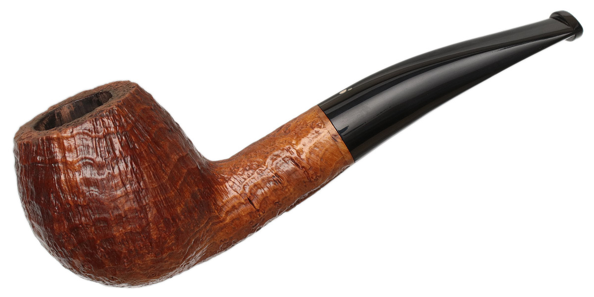 Italian Estate Luciano Sandblasted Bent Apple (55) (S*) (Gr 2)