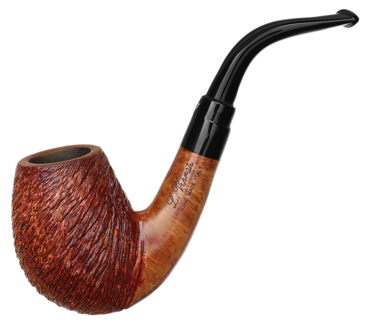 Italian Estate Luigi Viprati Partially Rusticated Bent Egg