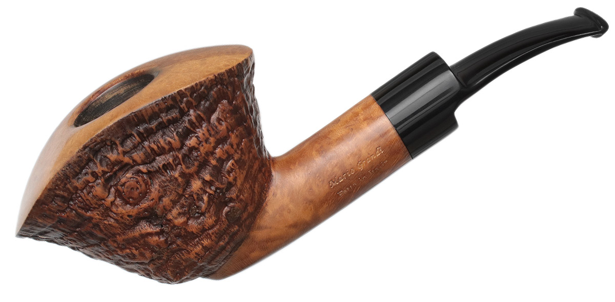 Italian Estate Mario Grandi Partially Sandblasted Bent Dublin