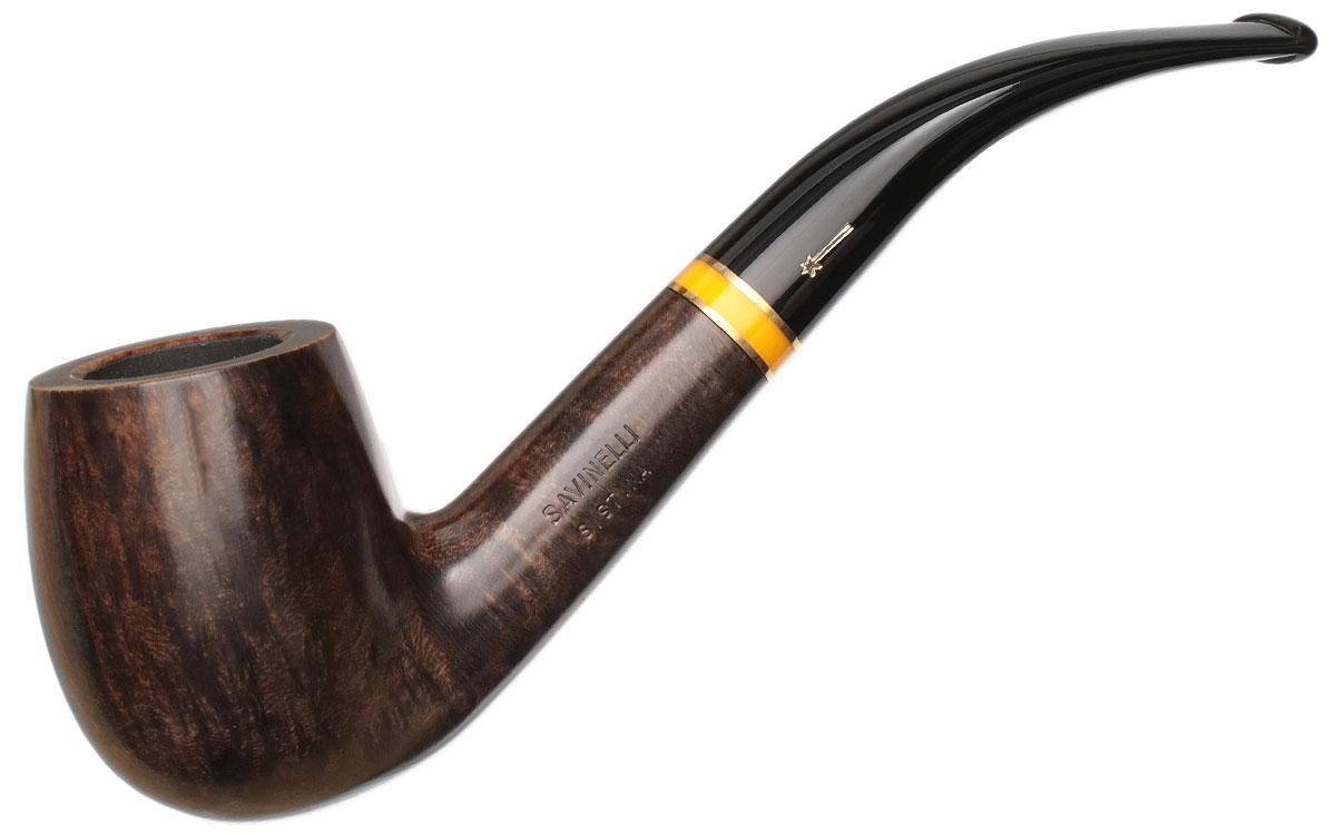 Italian Estate Savinelli Sistina Smooth (606 KS) (6mm) (Unsmoked)