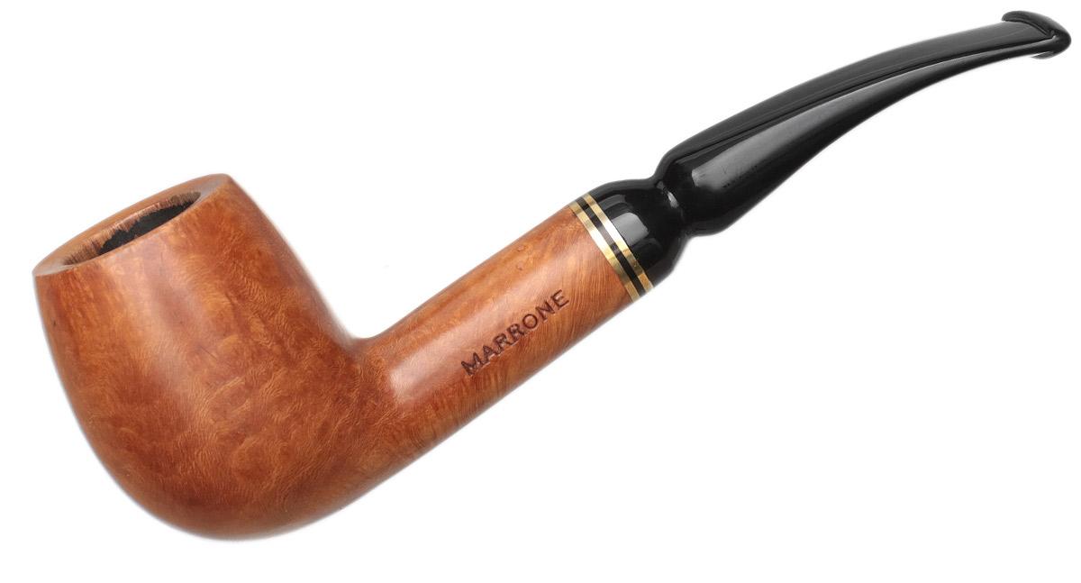 Italian Estate Marrone Smooth Bent Billiard (308)