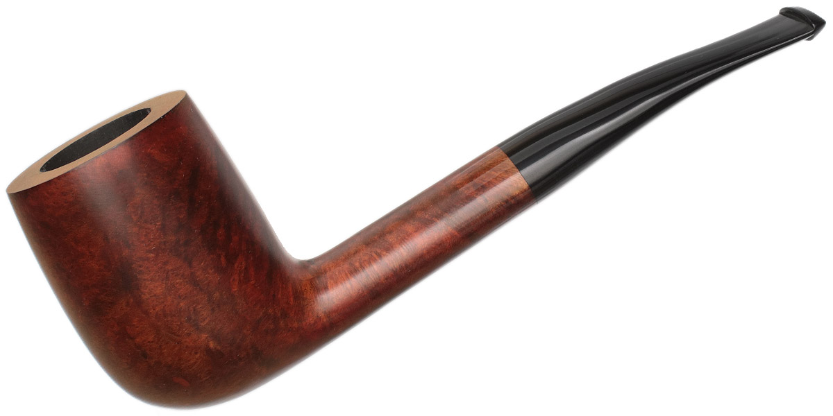 Italian Estate Smooth Bent Billiard (by Gigi) (Unstamped) (Unsmoked)