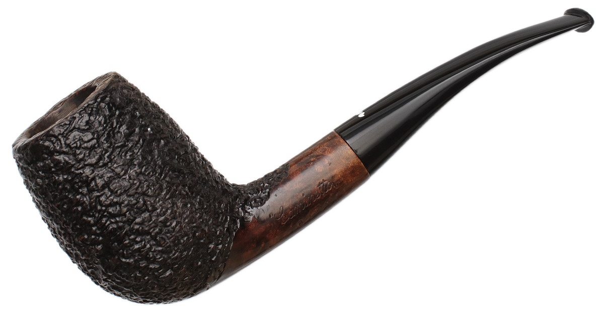 Italian Estate Caminetto Rusticated Bent Egg (8.L.14) (Replacement Tenon)