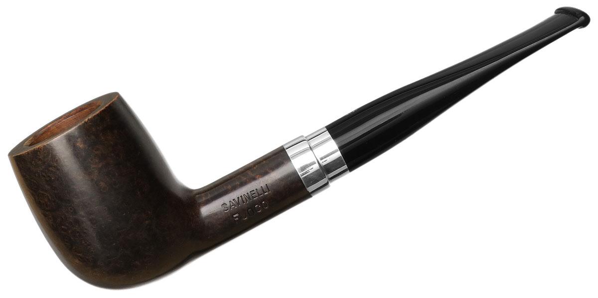 Italian Estate Savinelli Fuoco Smooth Dark Brown (128) (6mm)