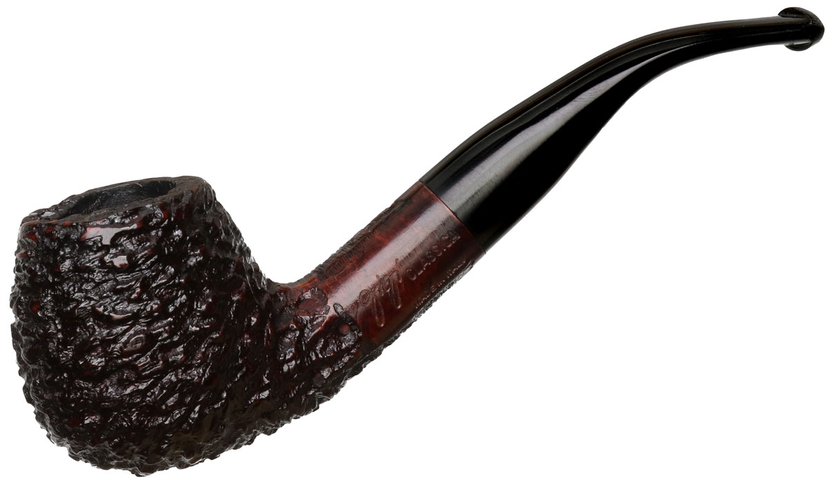 Italian Estate Gigi Classica Rusticated Bent Brandy (9mm) (Unsmoked)