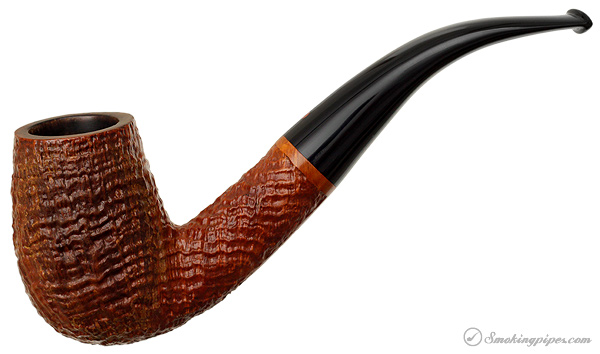 Italian Estate Ser Jacopo Sandblasted Bent Billiard (S3)