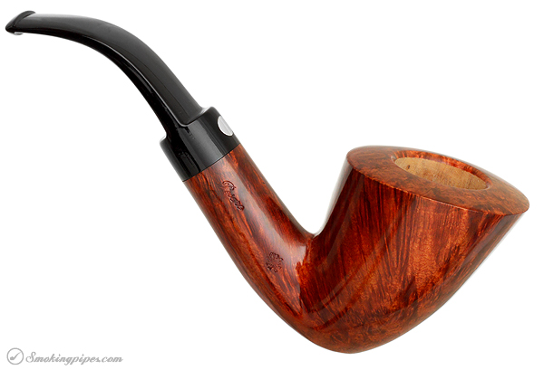 Italian Estate Mastro de Paja Smooth Bent Dublin (Media) (3A) (Sun) (Unsmoked)