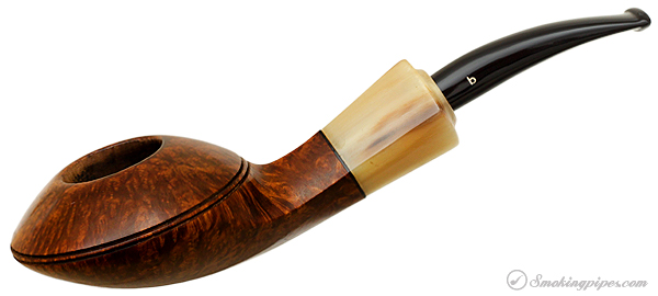 Italian Estate Becker Smooth Squat Bent Bulldog with Horn (Royal Flush) (Elite B) (2004)
