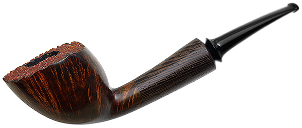 Misc. Estate Michail Kyriazanos Smooth Bent Dublin with Wenge (2014) (Unsmoked)