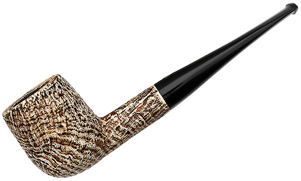 Misc. Estate Jobey Old Ivory Sandblasted Billiard (225) (Unsmoked)