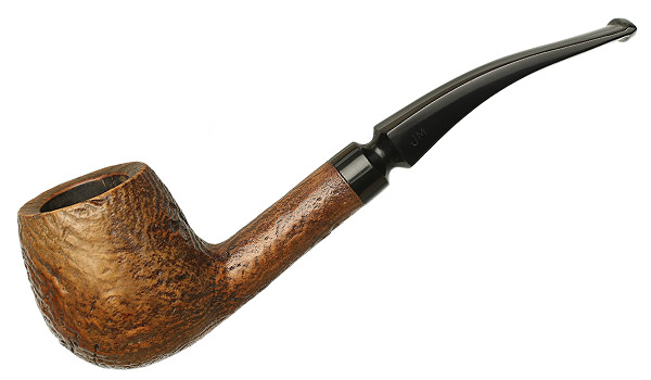 Misc. Estate John Mackenzie Sandblasted Bent Apple (191)