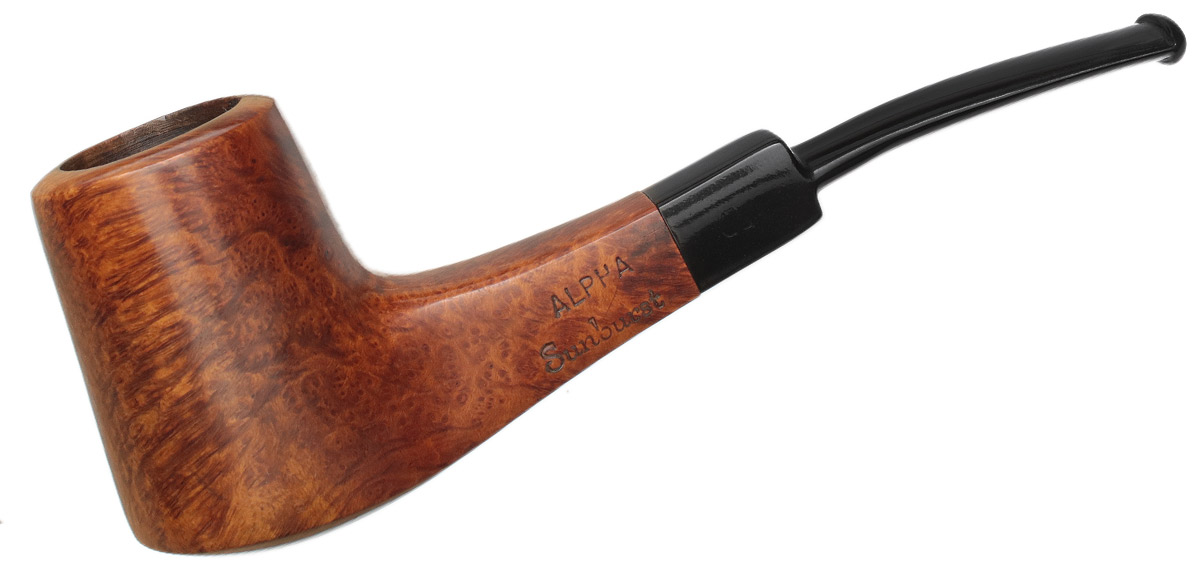 Misc. Estate Alpha Sunburst Smooth Bent Billiard