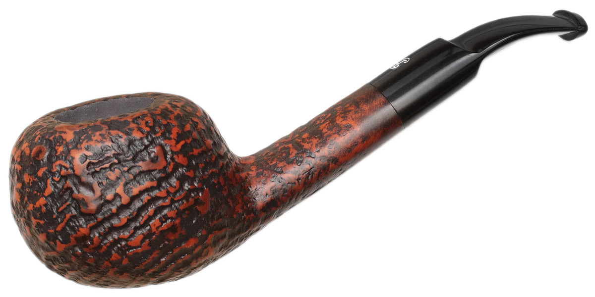 Misc. Estate Big Ben Sandblasted Bent Pot (Unsmoked)