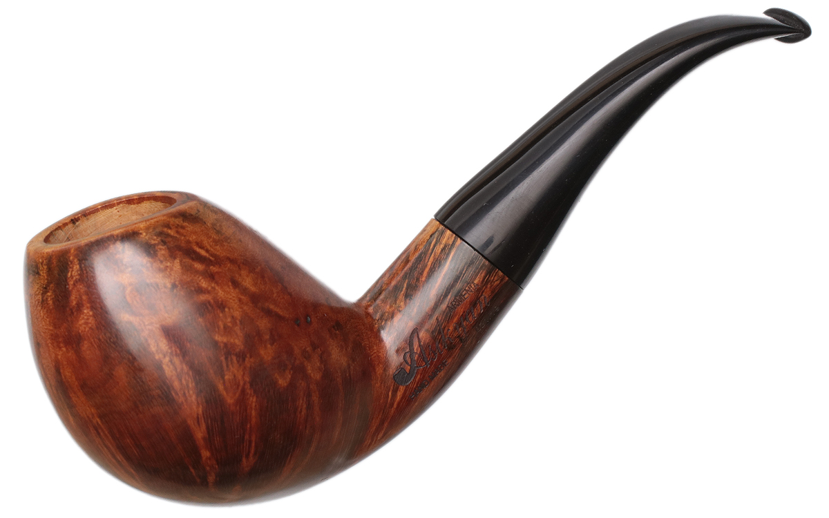 Misc. Estate Levon Asikyan Smooth Bent Egg (021/19) (9mm) (Unsmoked)