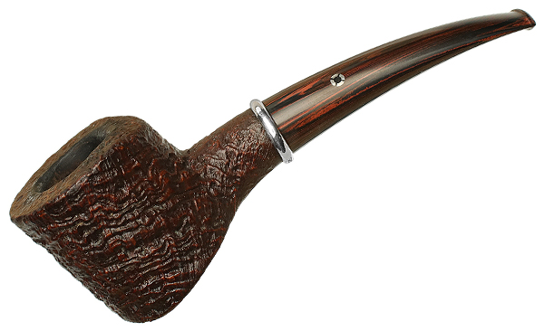 American Estate Larry Roush Sandblasted Bent Pot with Silver (S2) (960) (2004)