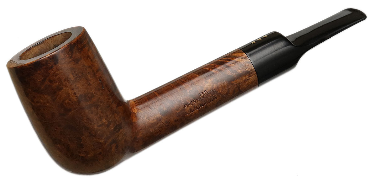 American Estate Pipe by Lee Smooth Billiard (***) (Threaded Tenon)