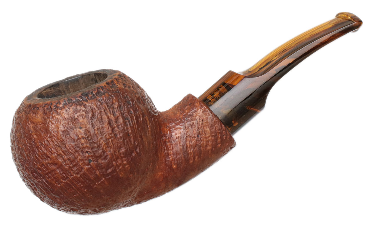 American Estate BriarWorks Icarus Crimson Sandblasted Stubby Bent Apple