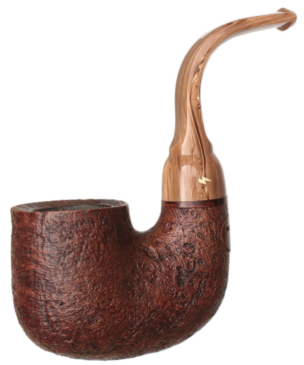 American Estate Moonshine Leather Sandblasted Pipe of the Year 2019