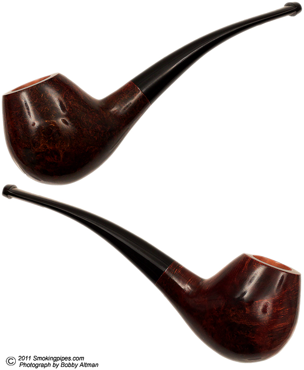 American Estate Sam Learned Smooth Bent Brandy (Moon) (2003) (Unsmoked)